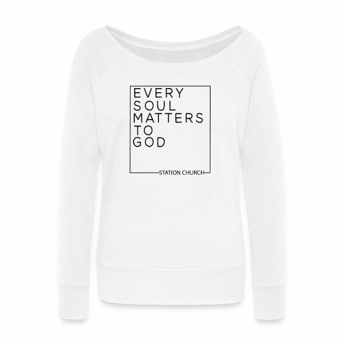ESMTG Black - Women's Wideneck Sweatshirt