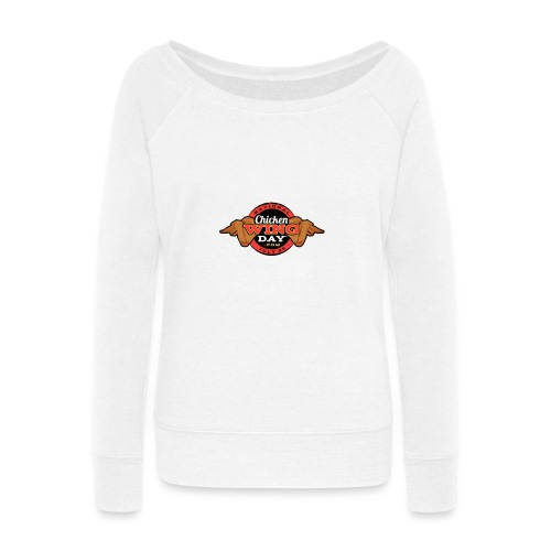 Chicken Wing Day - Women's Wideneck Sweatshirt