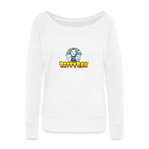 RiffTrax Made Funny By Shirt - Women's Wideneck Sweatshirt