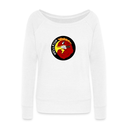 Hellfish - Flying Hellfish - Women's Wideneck Sweatshirt
