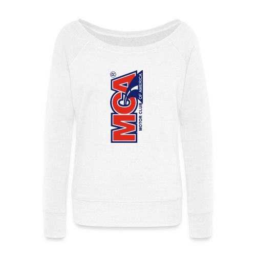 MCA Logo Iphone png - Women's Wideneck Sweatshirt