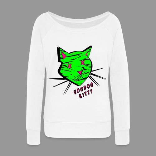 Voodoo Kitty - Women's Wideneck Sweatshirt