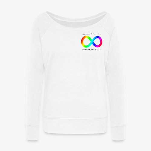 Embrace Neurodiversity - Women's Wideneck Sweatshirt