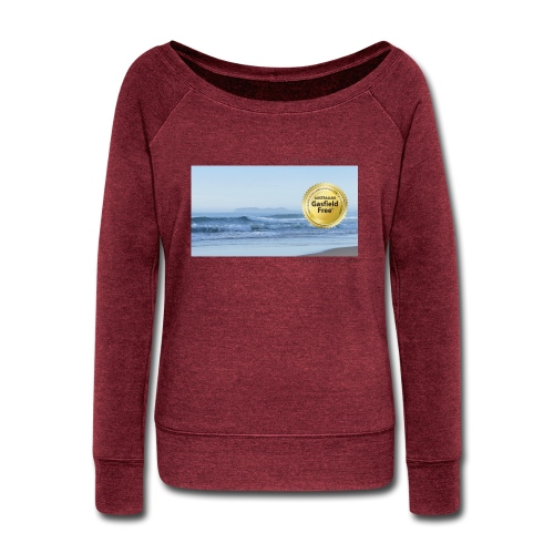 Beach Collection 1 - Women's Wideneck Sweatshirt