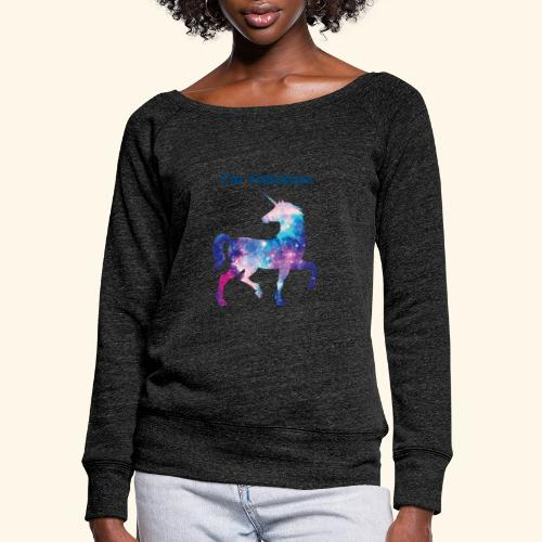 I'm Fabulous Unicorn - Women's Wideneck Sweatshirt