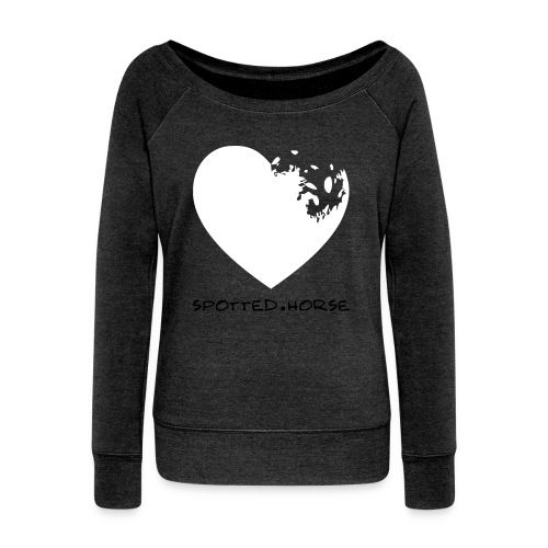 Appaloosa Heart - Women's Wideneck Sweatshirt