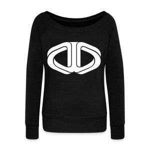 Drone Manipulation Logo - Women's Wideneck Sweatshirt