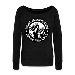 Drone Manipulation FISTS UP - Women's Wideneck Sweatshirt
