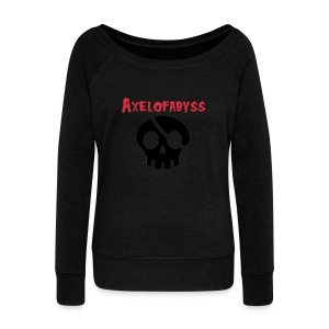 skull pirate 2 - Women's Wideneck Sweatshirt