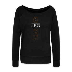 For the JPG Shooter - Women's Wideneck Sweatshirt
