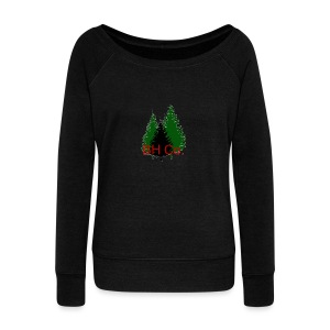 EVERGREEN LOGO - Women's Wideneck Sweatshirt