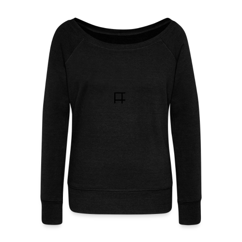 HUGE Logo - Women's Wideneck Sweatshirt