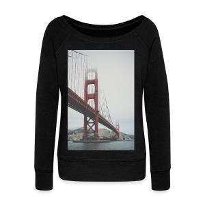 Golden Gate Bridge - Women's Wideneck Sweatshirt