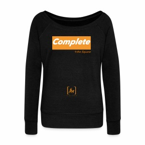 Complete the Square [fbt] - Women's Wideneck Sweatshirt