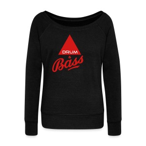 Drum and Bass - Women's Wideneck Sweatshirt
