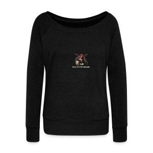 dicks out for harambe - Women's Wideneck Sweatshirt