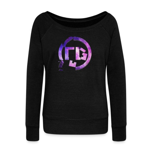 Broken Sign - Women's Wideneck Sweatshirt