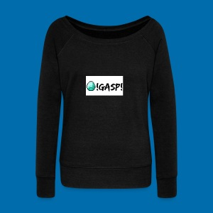 Diamond Gasp! - Women's Wideneck Sweatshirt