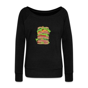 The Dagwood - Women's Wideneck Sweatshirt