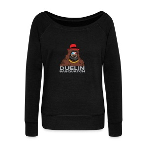Duelin Sasquatch - Women's Wideneck Sweatshirt