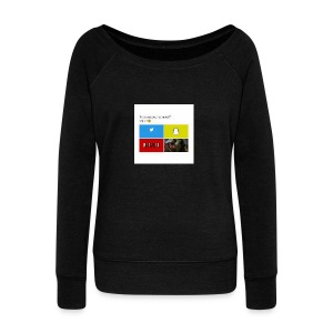 First shirt - Women's Wideneck Sweatshirt