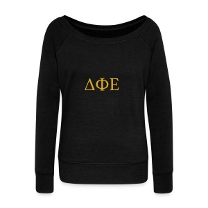 Good Ol Letters - Women's Wideneck Sweatshirt