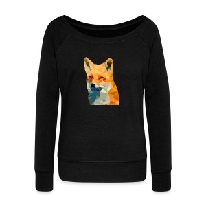 Jonk - Fox - Women's Wideneck Sweatshirt