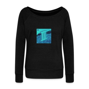 Currensy PilotTalk3 Artwork - Women's Wideneck Sweatshirt
