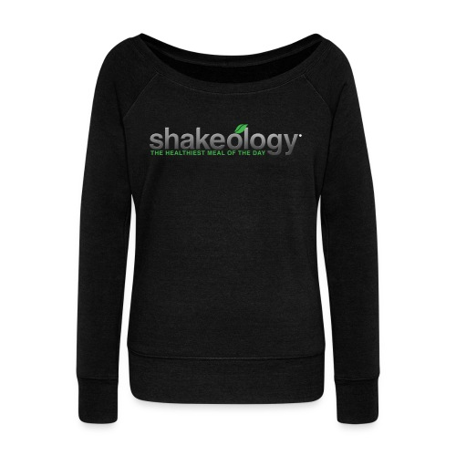 shakeology png - Women's Wideneck Sweatshirt