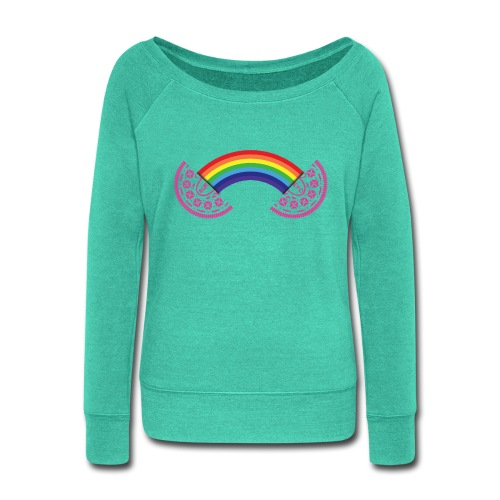 AureyO Rainbow - Women's Wideneck Sweatshirt