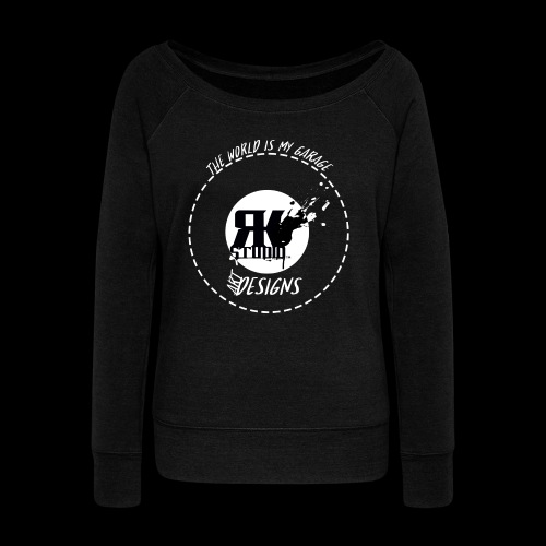 The World is My Garage - Women's Wideneck Sweatshirt