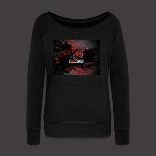 RedOpz Splatter - Women's Wideneck Sweatshirt