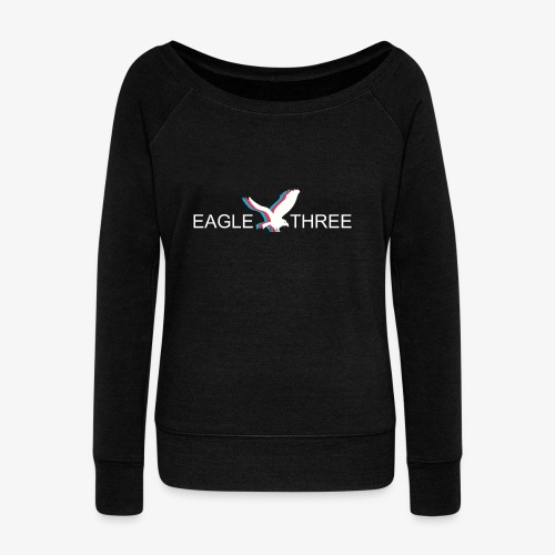 EAGLE THREE APPAREL - Women's Wideneck Sweatshirt
