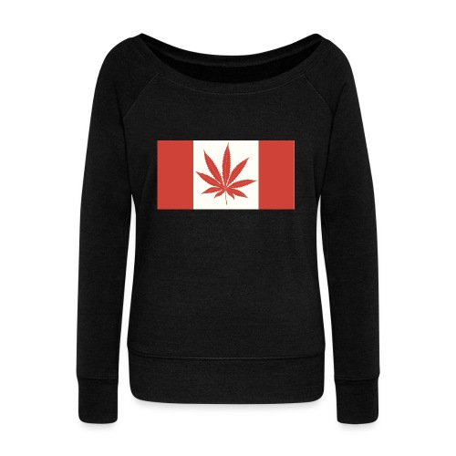Canada 420 - Women's Wideneck Sweatshirt