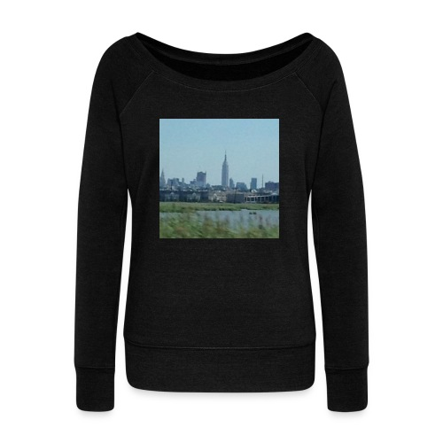 New York - Women's Wideneck Sweatshirt