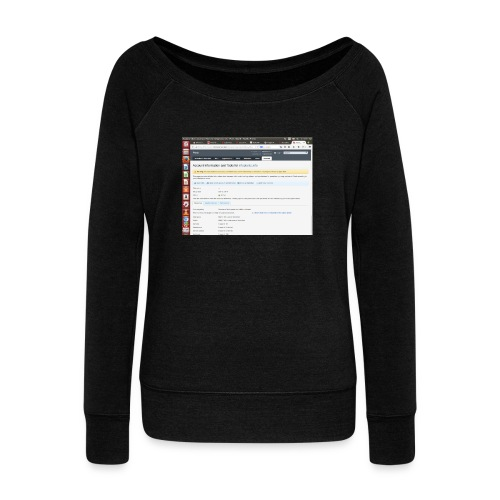Screenshot from 2016 09 07 02 14 53 - Women's Wideneck Sweatshirt