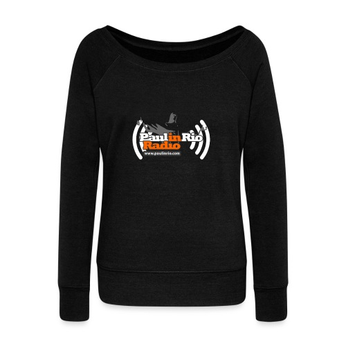 Paul in Rio Radio - Thumbs-up Corcovado #1 - Women's Wideneck Sweatshirt