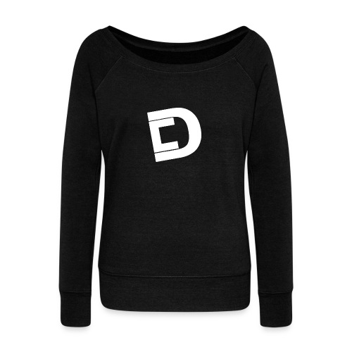 DrewskysChannel Youtube Logo - Women's Wideneck Sweatshirt