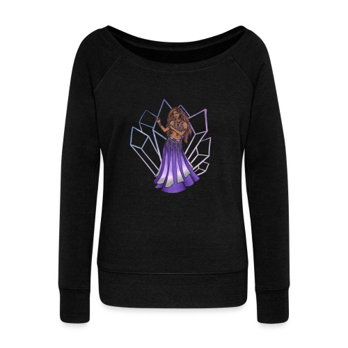 Belly Dancer - Women's Wideneck Sweatshirt