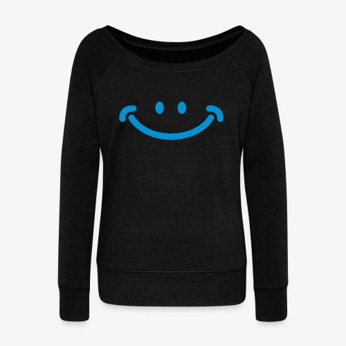 Happy Mug - Women's Wideneck Sweatshirt