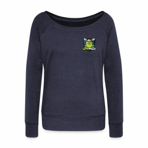 Limepally's Logo - Women's Wideneck Sweatshirt