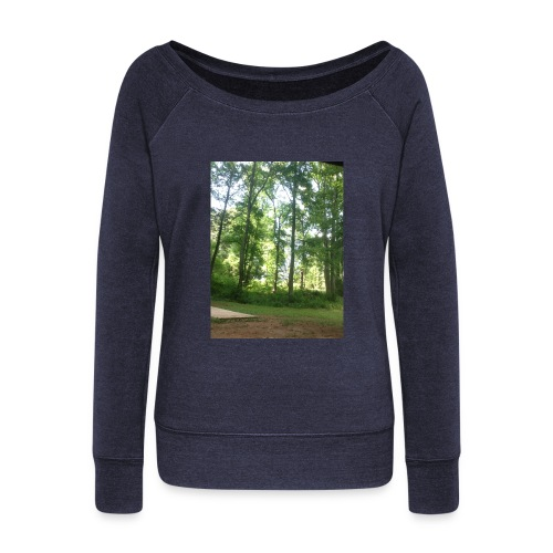 Lets Get Lost - Women's Wideneck Sweatshirt