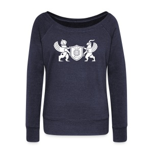 Iran lion & griffin - Women's Wideneck Sweatshirt