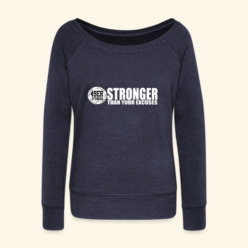 strongerblack - Women's Wideneck Sweatshirt