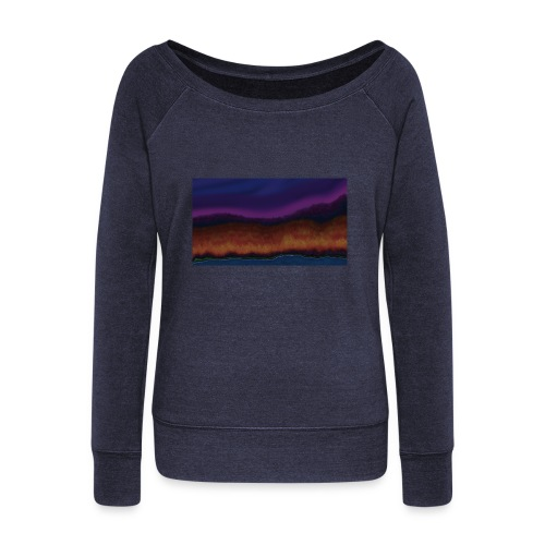 Fall Scene - Women's Wideneck Sweatshirt