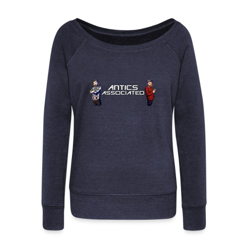 The Antics Crew - Women's Wideneck Sweatshirt