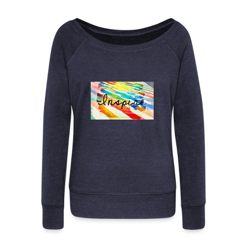 Inspire - Women's Wideneck Sweatshirt