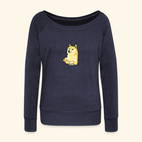 Doge - Women's Wideneck Sweatshirt