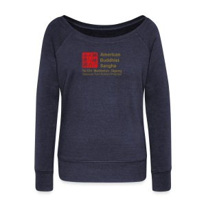 American Buddhist Sangha / Zen Do USA - Women's Wideneck Sweatshirt
