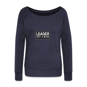 Leader - Women's Wideneck Sweatshirt